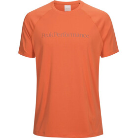 Peak Performance Gallos Co2 - Camiseta manga corta Hombre - naranja